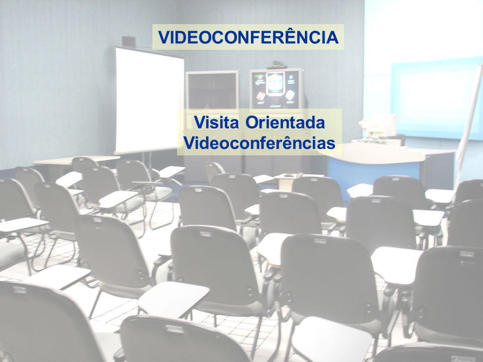 VIDEOCONFERÊNCIA Visita Orientada Videoconferências
