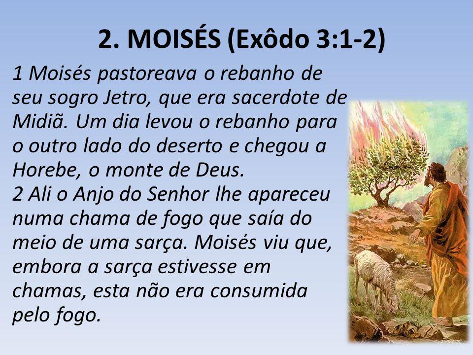 2. MOISÉS (Exôdo 3:1-2)