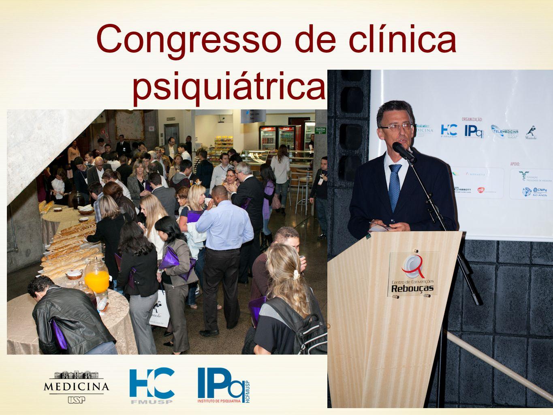 Congresso de clínica psiquiátrica 2011