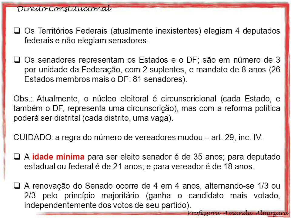 CUIDADO: a regra do número de vereadores mudou – art. 29, inc. IV.