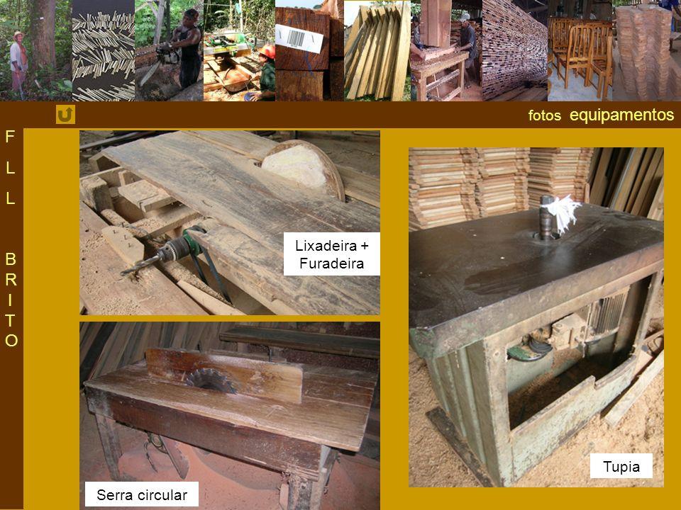 fotos equipamentos F L BRITO Lixadeira + Furadeira Tupia