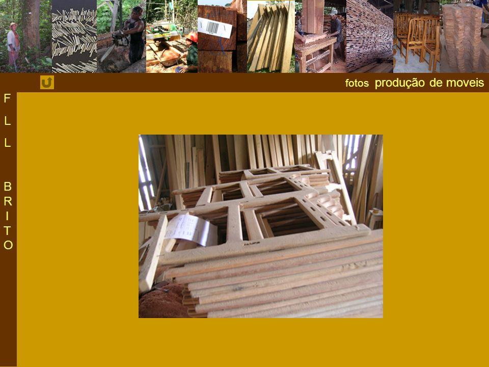 F L BRITO fotos produção de moveis