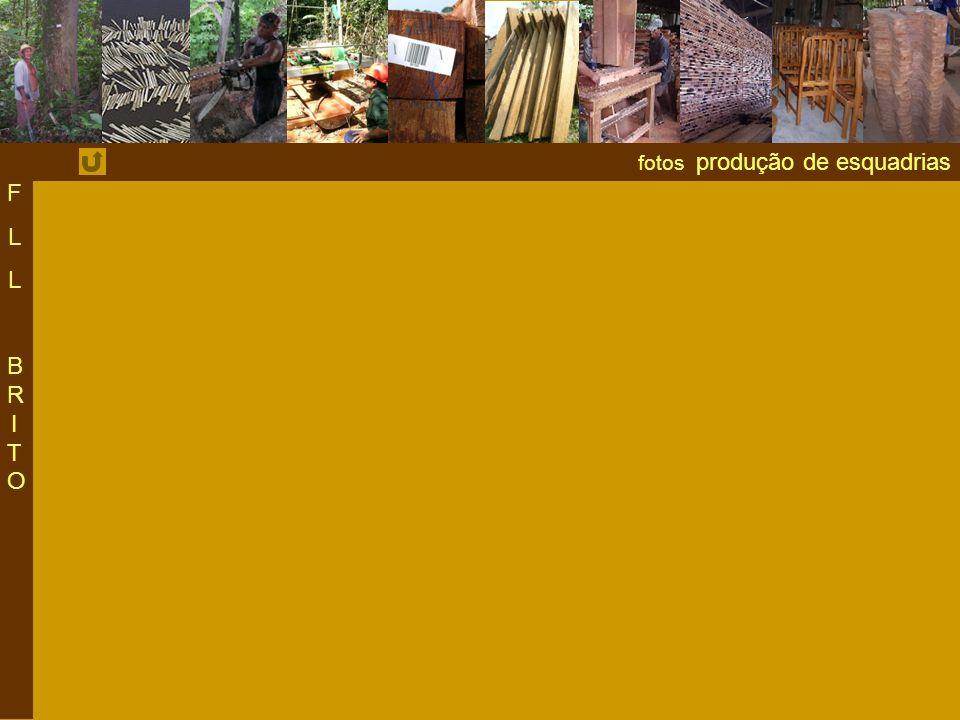 F L BRITO fotos produção de esquadrias