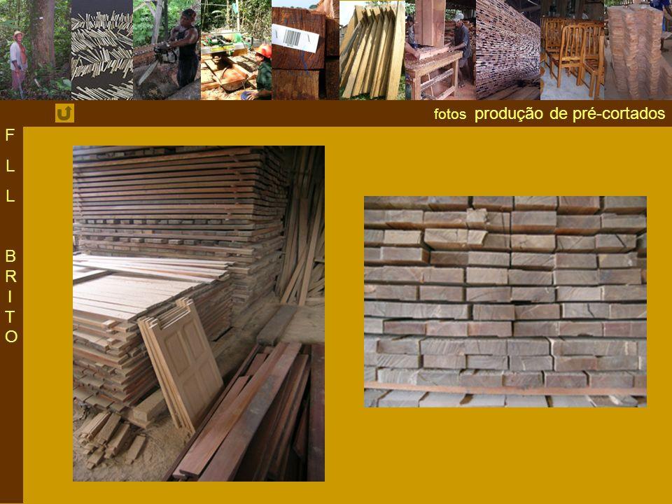 F L BRITO fotos produção de pré-cortados