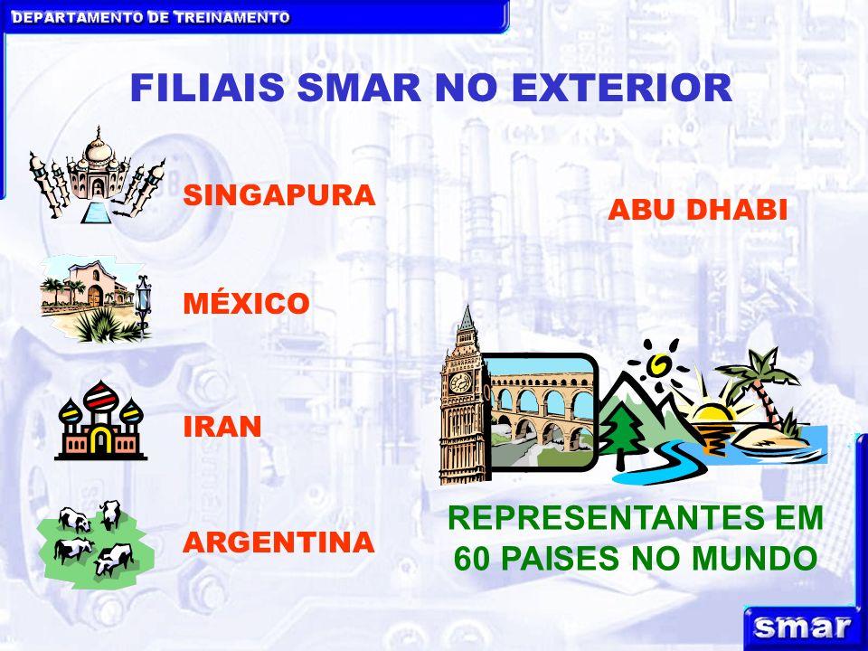 FILIAIS SMAR NO EXTERIOR