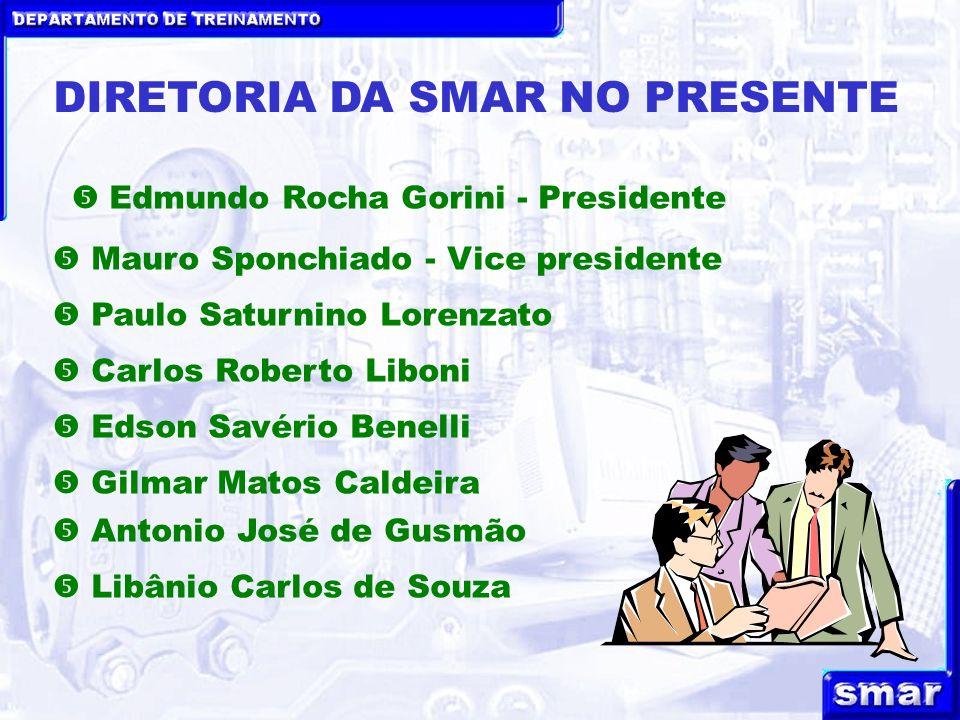 DIRETORIA DA SMAR NO PRESENTE