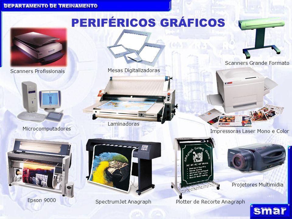 PERIFÉRICOS GRÁFICOS Scanners Grande Formato Scanners Profissionais