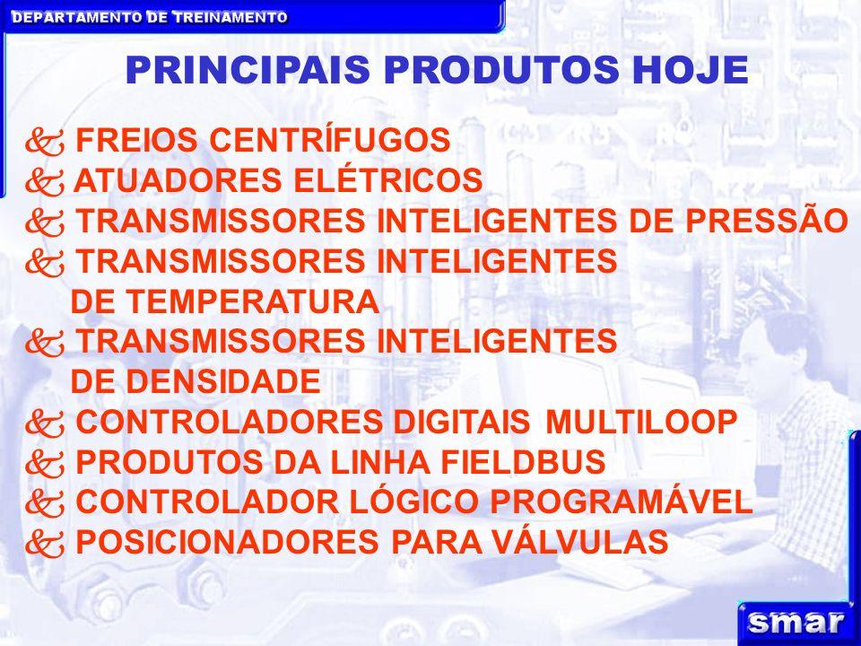 PRINCIPAIS PRODUTOS HOJE