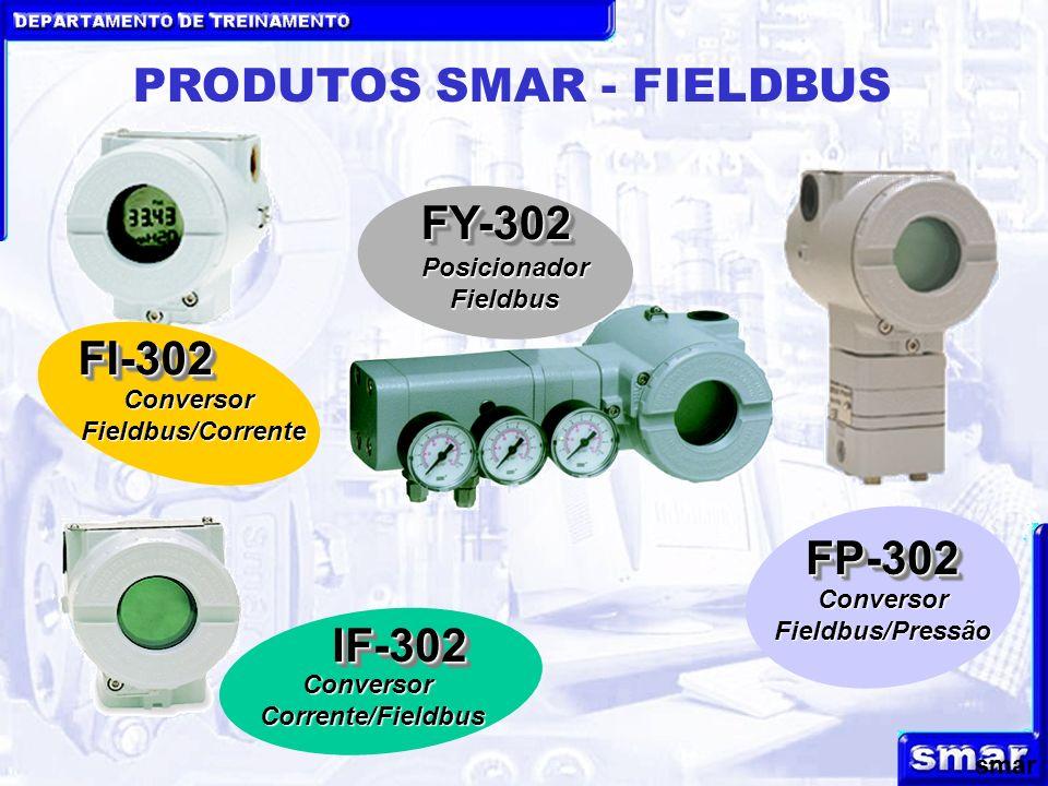 PRODUTOS SMAR - FIELDBUS