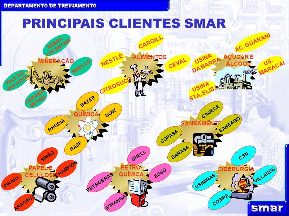 PRINCIPAIS CLIENTES SMAR