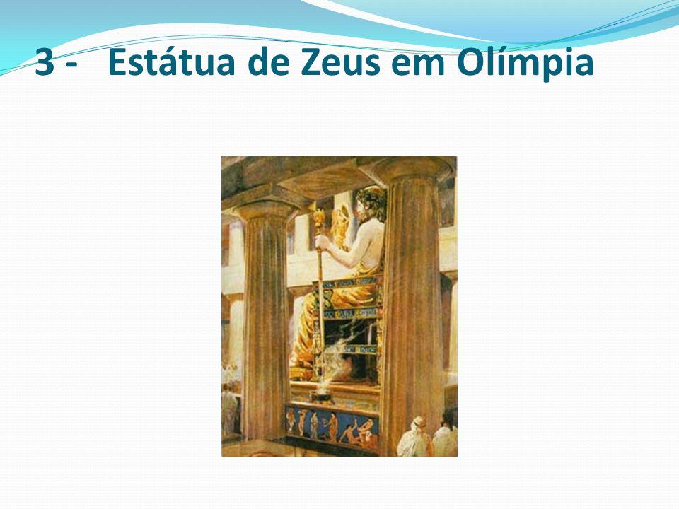 3 - Estátua de Zeus em Olímpia