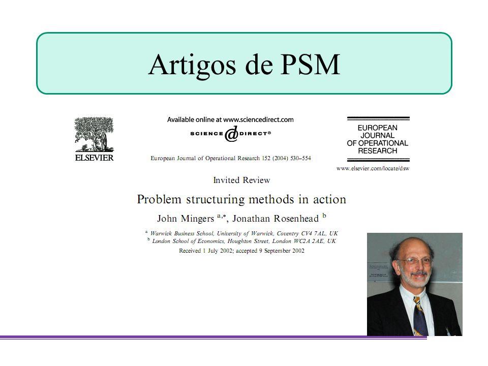 Artigos de PSM