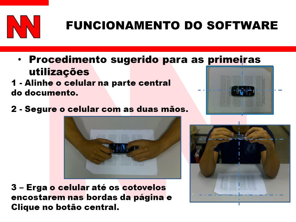 FUNCIONAMENTO DO SOFTWARE