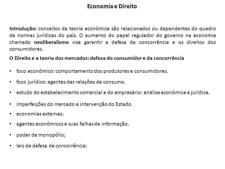 Economia e Direito