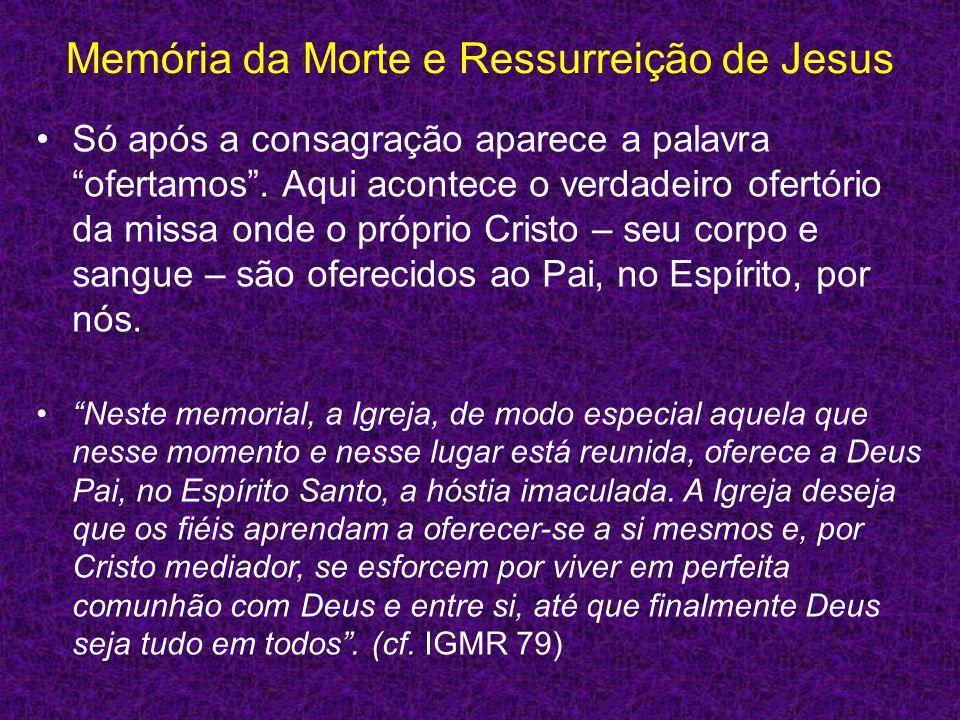 Memória da Morte e Ressurreição de Jesus