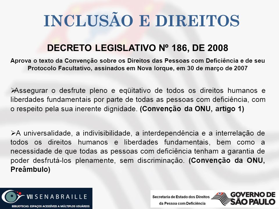 DECRETO LEGISLATIVO Nº 186, DE 2008