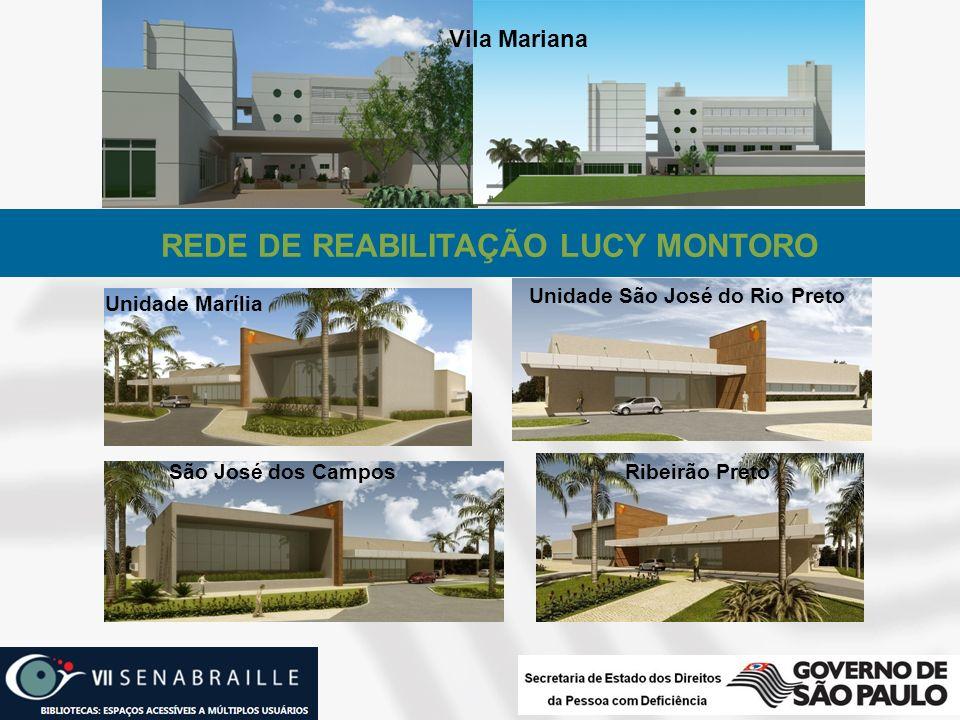 REDE DE REABILITAÇÃO LUCY MONTORO