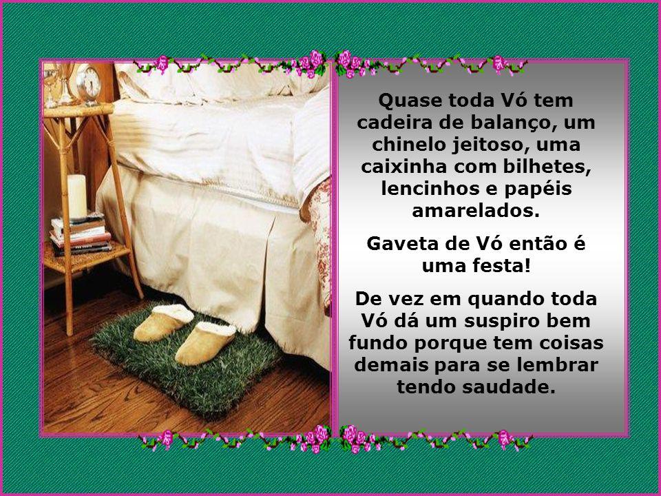 Gaveta de Vó então é uma festa!