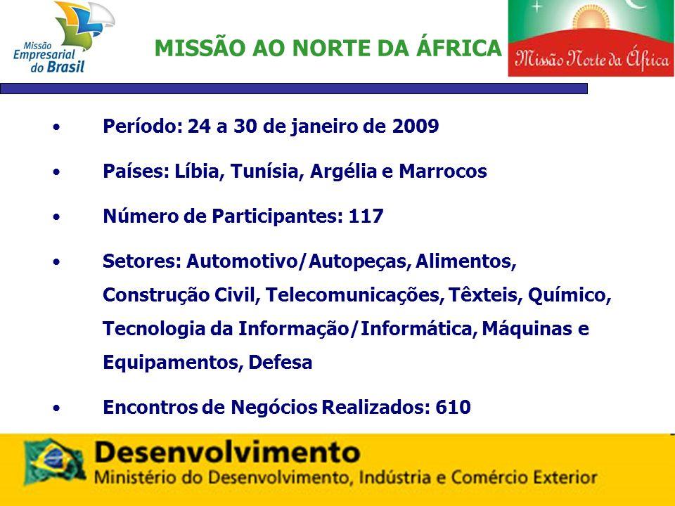 MISSÃO AO NORTE DA ÁFRICA