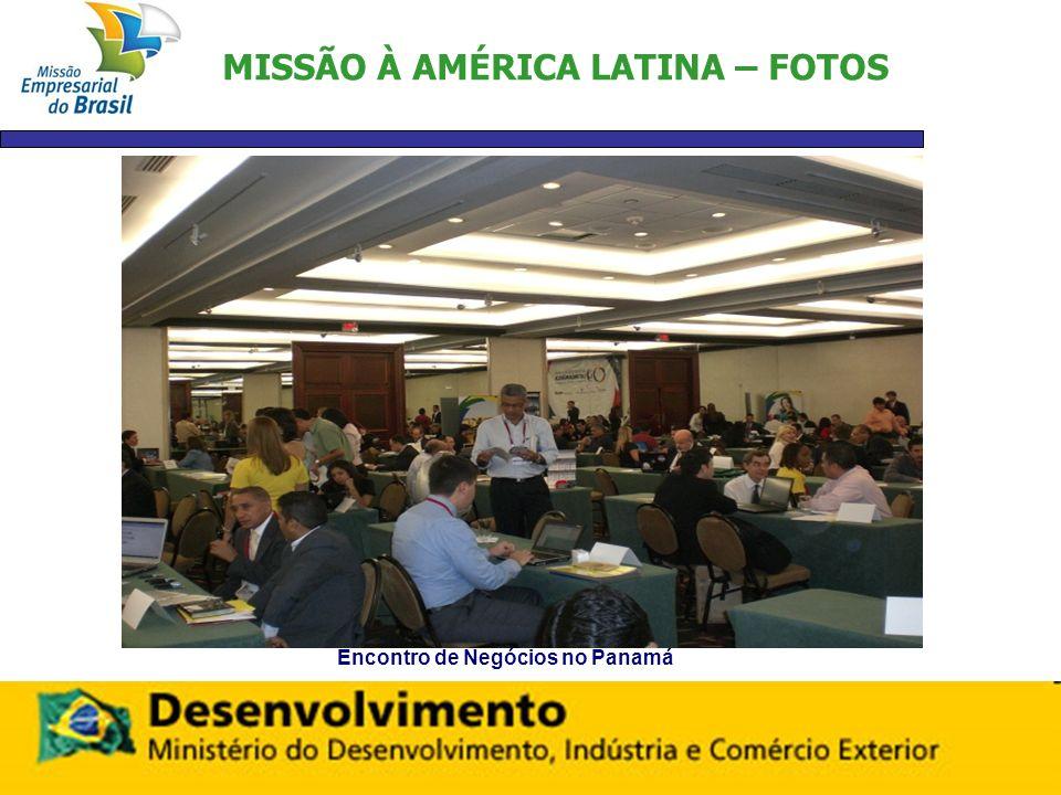 MISSÃO À AMÉRICA LATINA – FOTOS Encontro de Negócios no Panamá