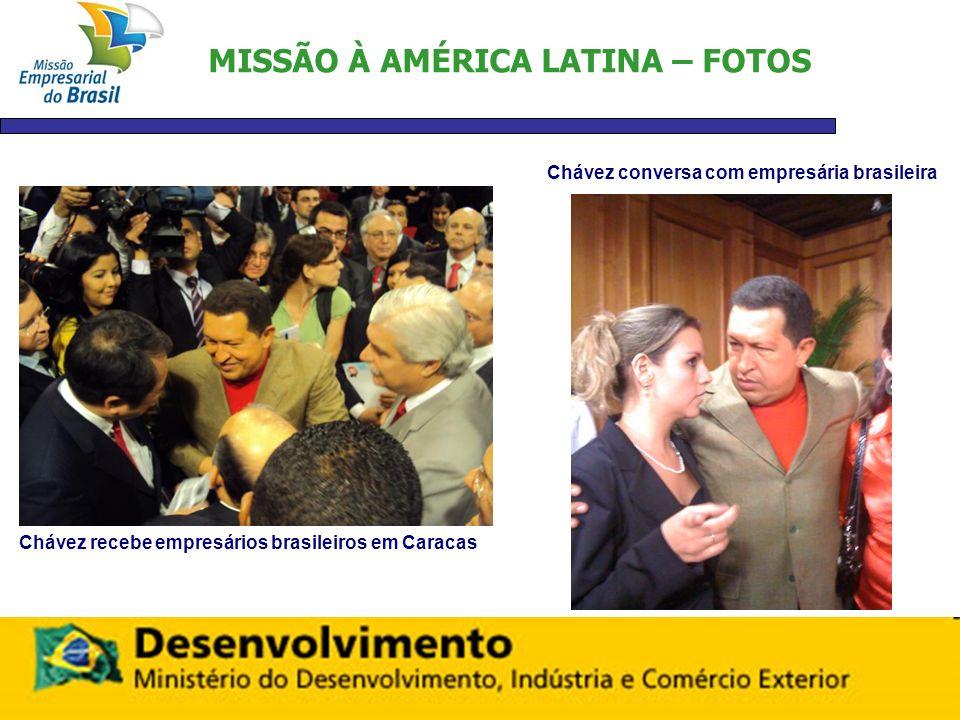 MISSÃO À AMÉRICA LATINA – FOTOS