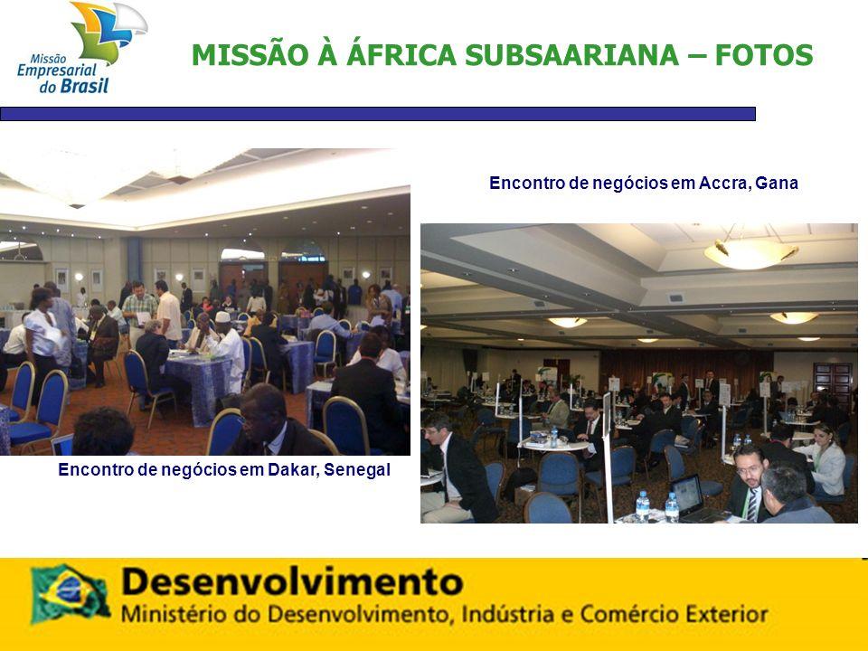 MISSÃO À ÁFRICA SUBSAARIANA – FOTOS