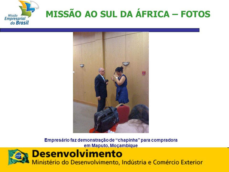 MISSÃO AO SUL DA ÁFRICA – FOTOS