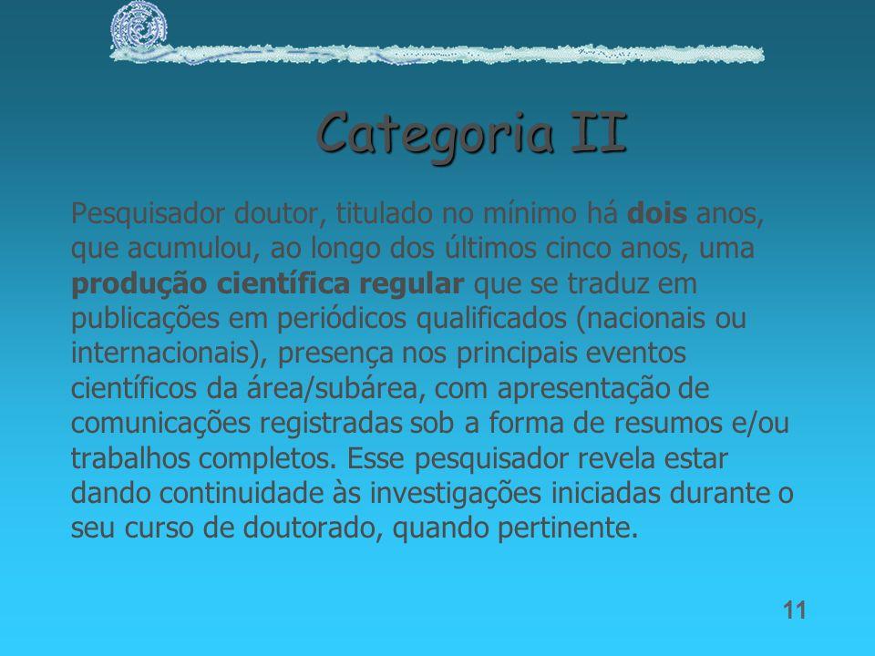 Categoria II