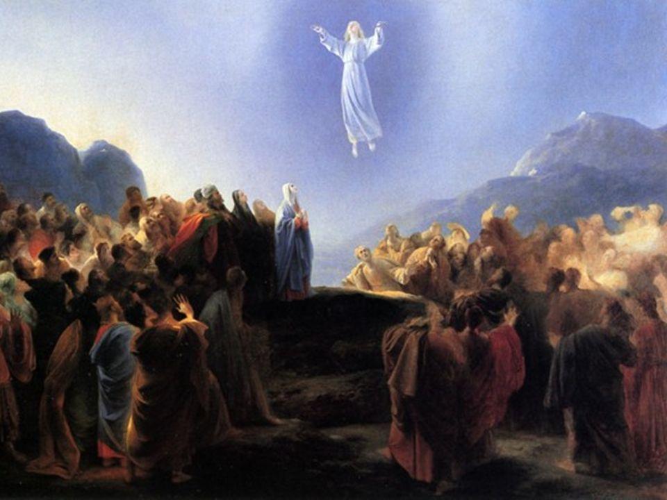 Jesus, após ter instruído os discípulos com ensinamentos libertadores ao longo do seu ministério, volta ao Pai glorificado.