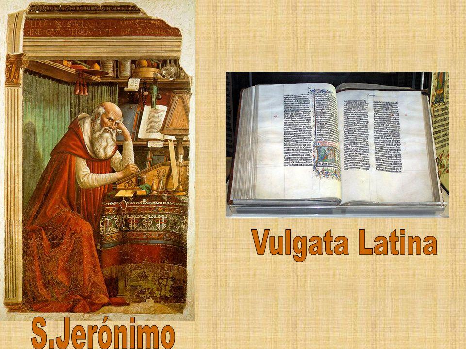 Vulgata Latina S.Jerónimo