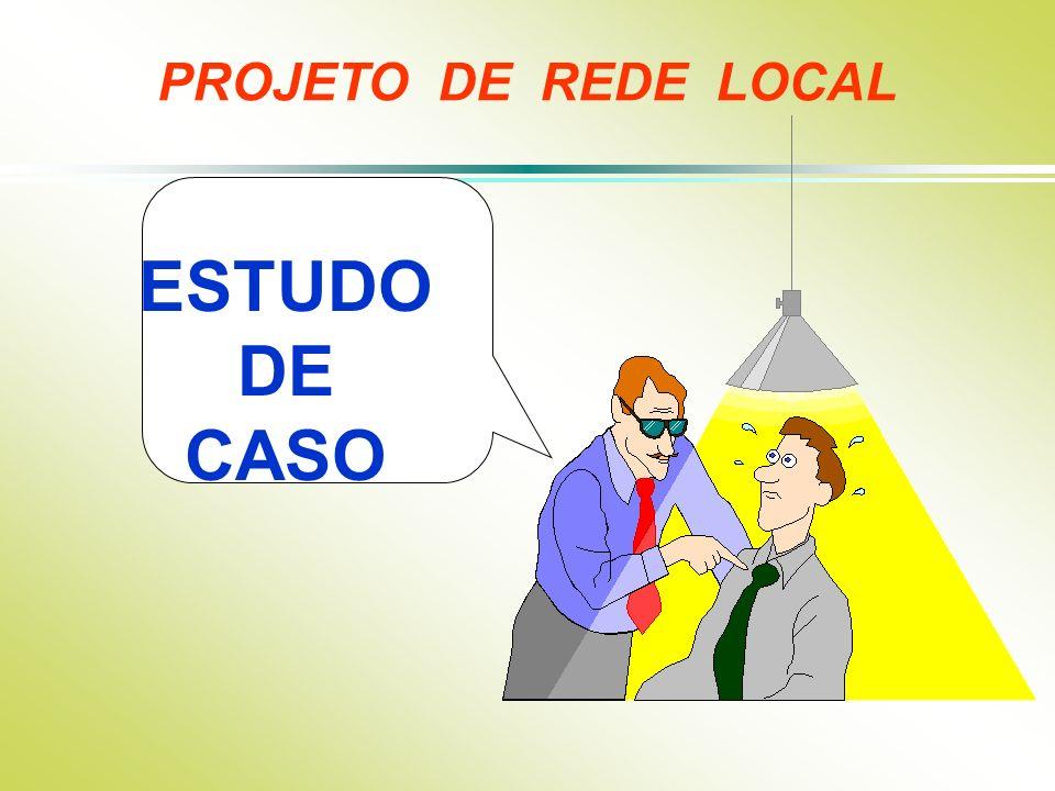 PROJETO DE REDE LOCAL ESTUDO DE CASO
