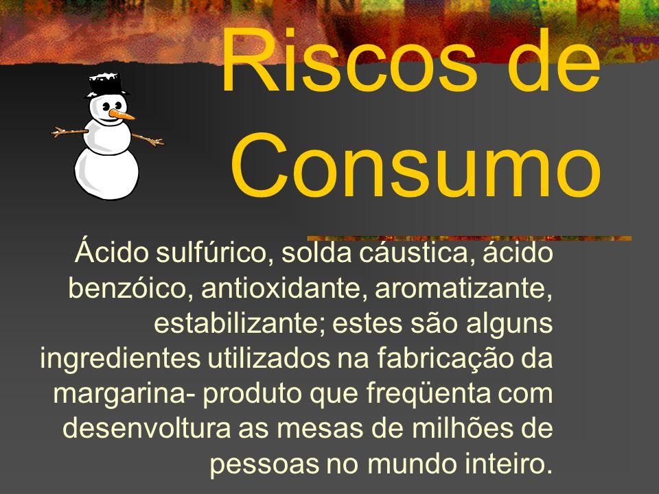 Riscos de Consumo