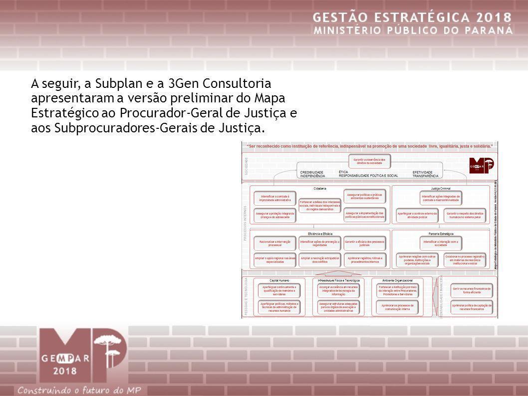 A seguir, a Subplan e a 3Gen Consultoria