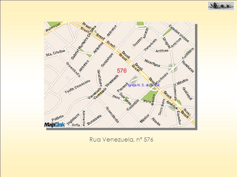 Rua Venezuela, nº 576