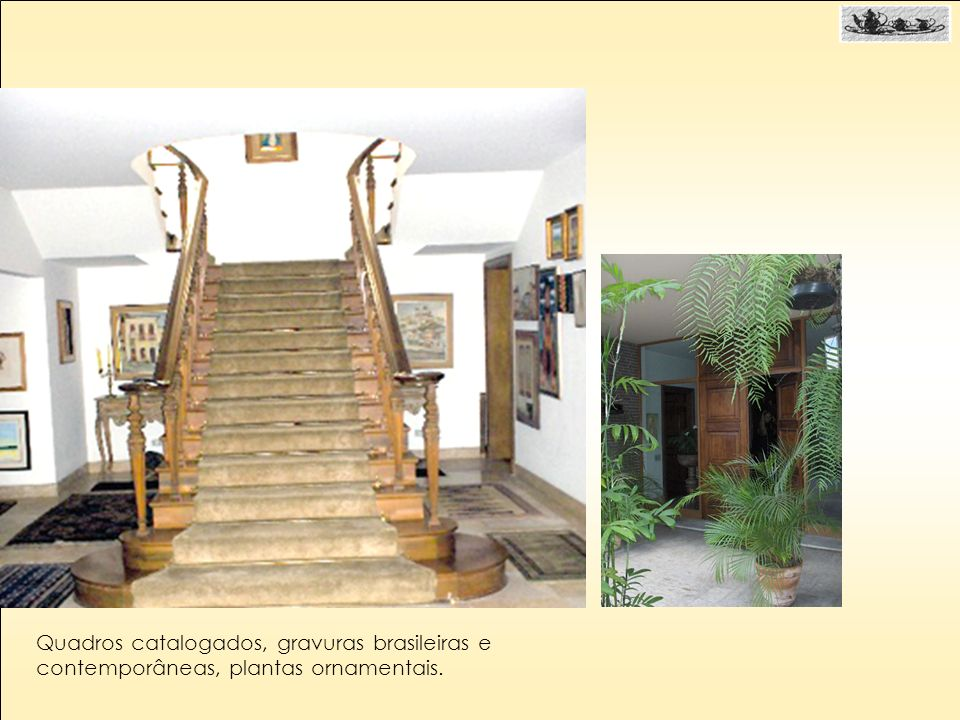 Quadros catalogados, gravuras brasileiras e contemporâneas, plantas ornamentais.