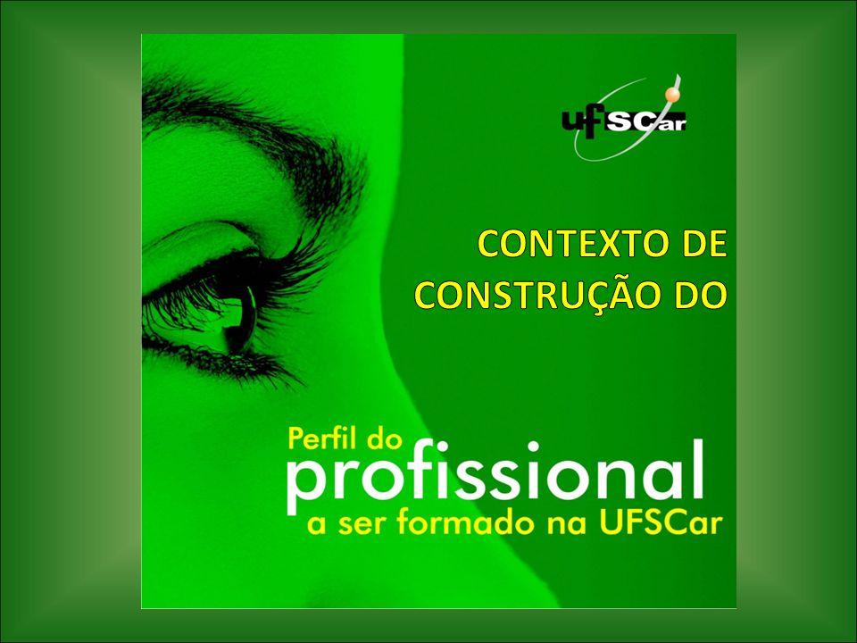 CONTEXTO DE CONSTRUÇÃO DO