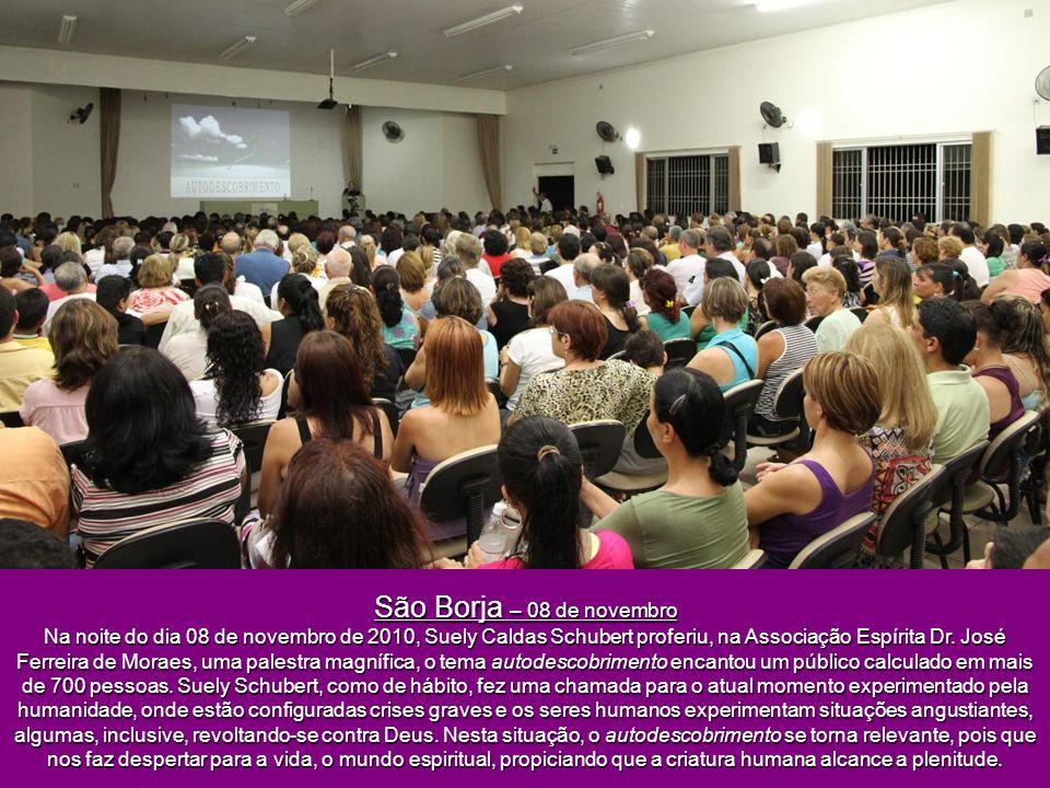 São Borja – 08 de novembro