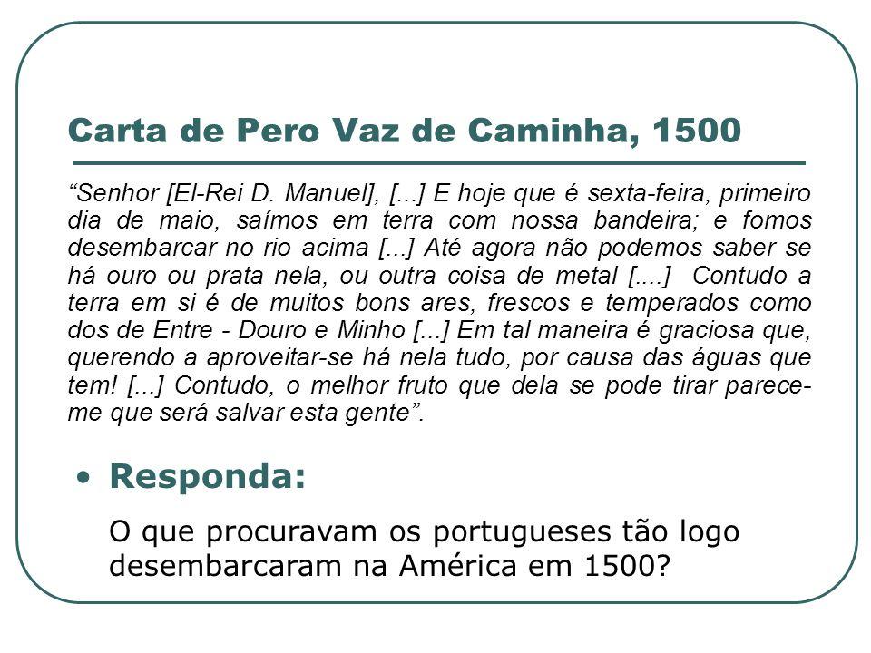 Carta de Pero Vaz de Caminha, 1500