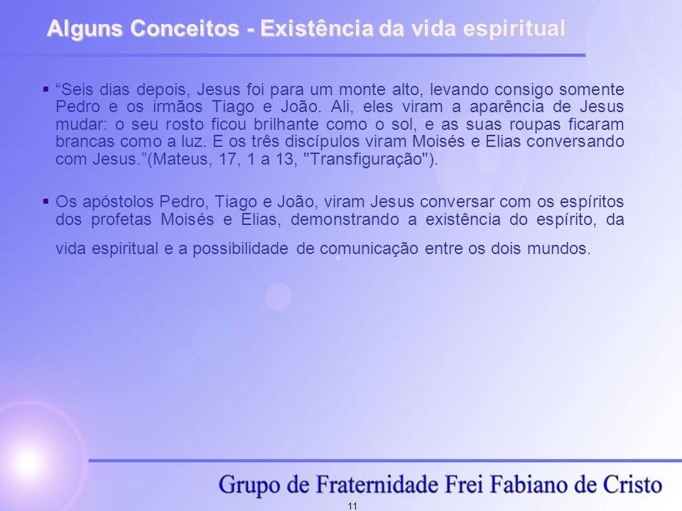 Alguns Conceitos - Existência da vida espiritual