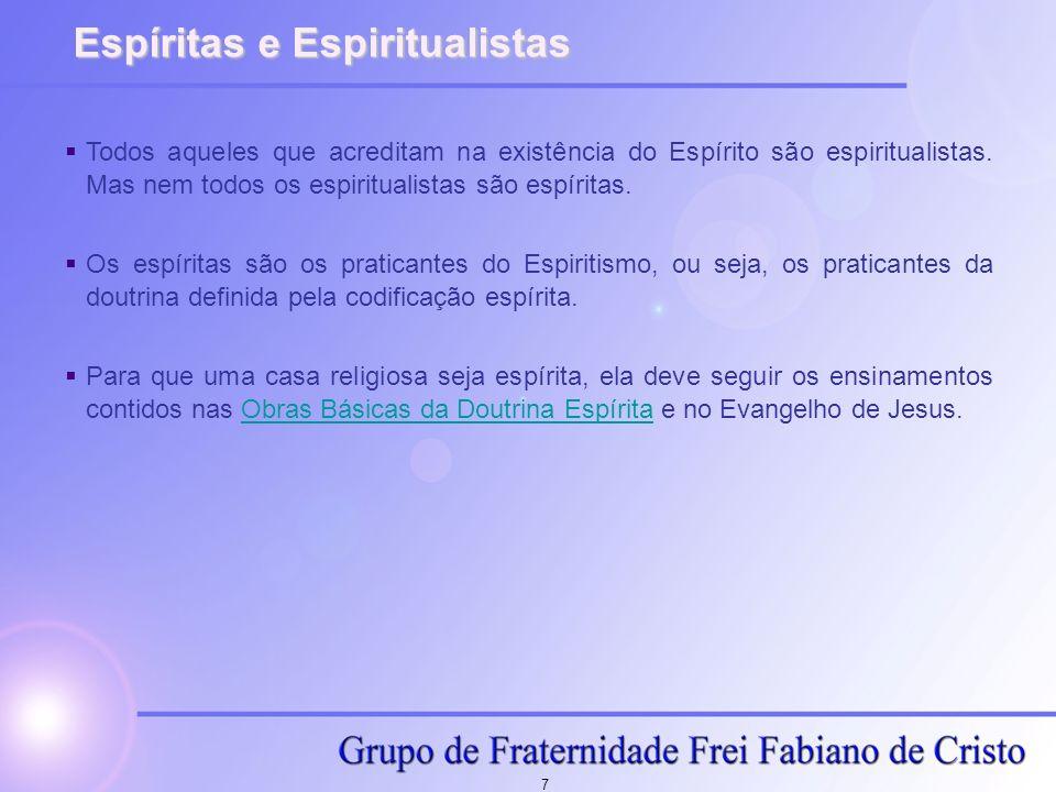 Espíritas e Espiritualistas