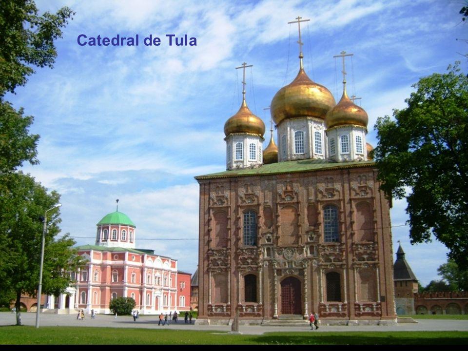 Tula é uma cidade da Rússia, capital da província homônima e localiza-se ao sul de Moscou, no centro da Rússia Européia. Com cerca de 549 mil habitantes é uma cidade muito antiga que se tornou no centro da indústria metalúrgica russa a partir de 1.712, após a descoberta de jazidas de ferro e carvão na área.