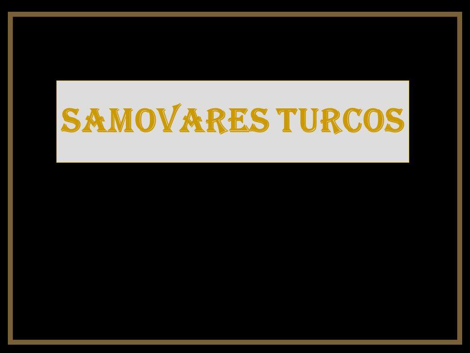 Samovares turcos