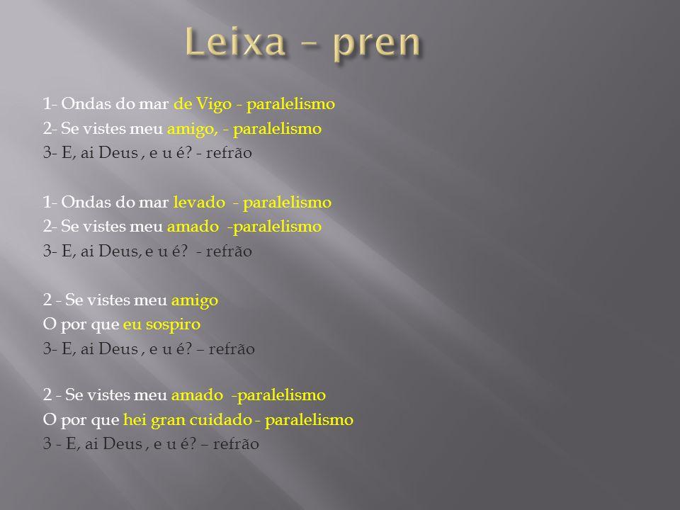 Leixa – pren 1- Ondas do mar de Vigo - paralelismo