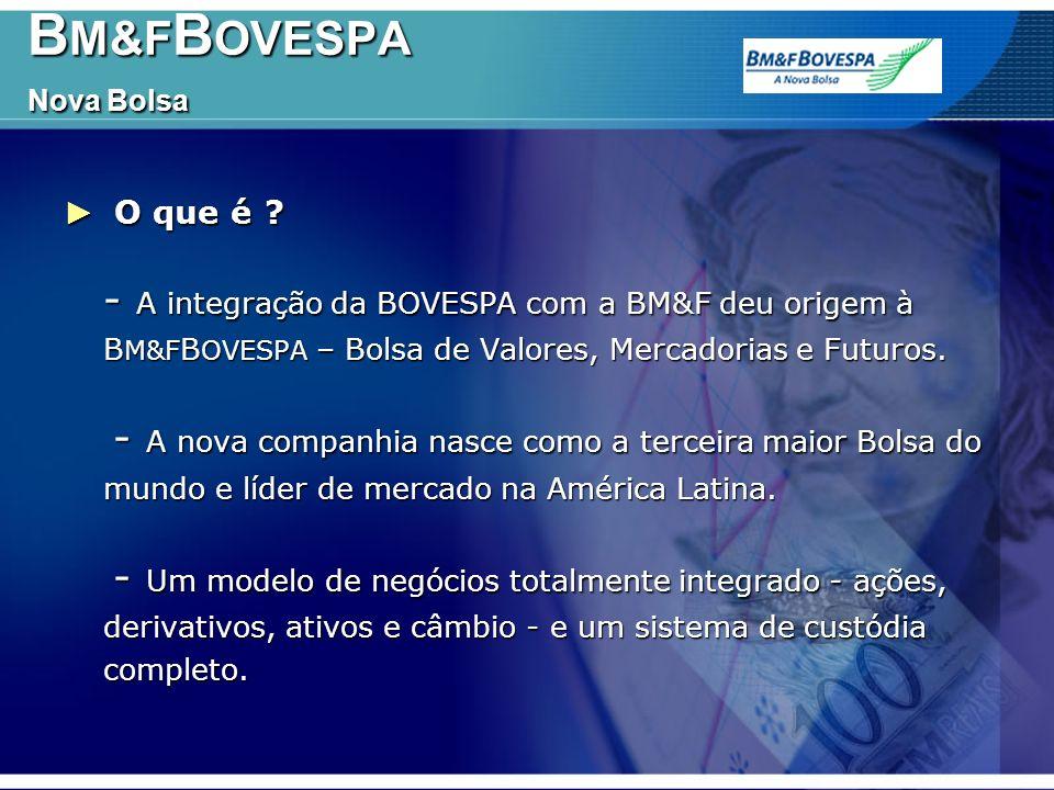 BM&FBOVESPA Nova Bolsa