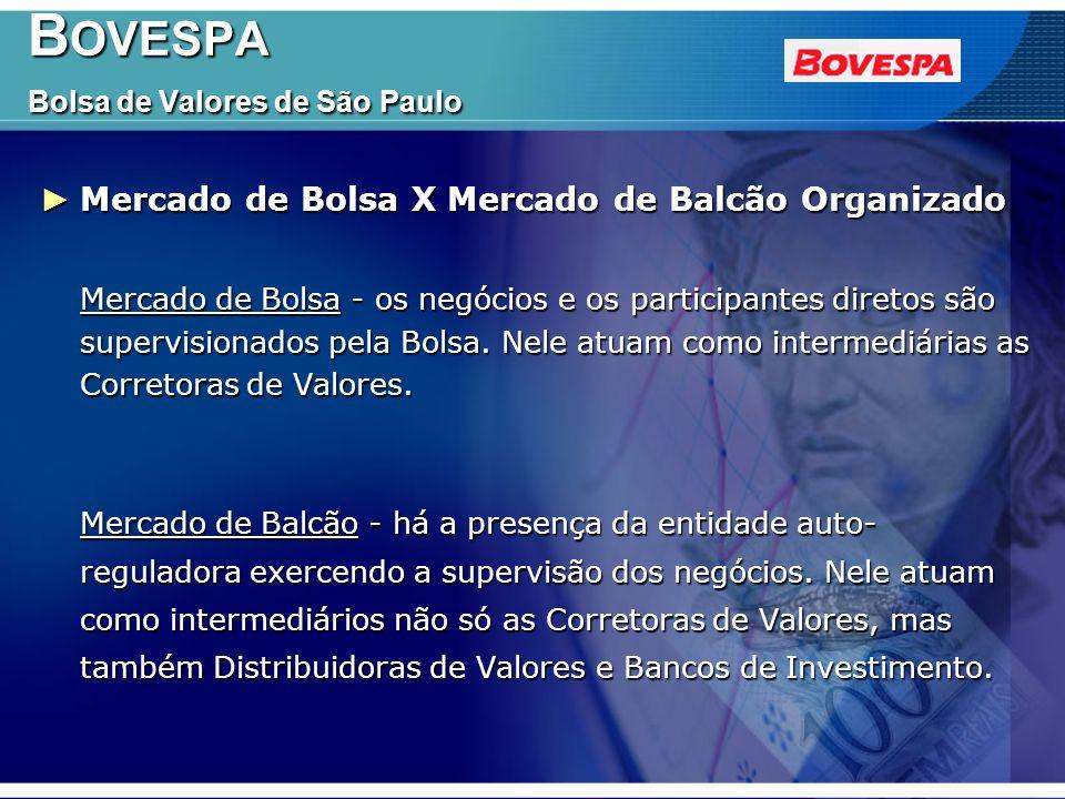 BOVESPA Bolsa de Valores de São Paulo