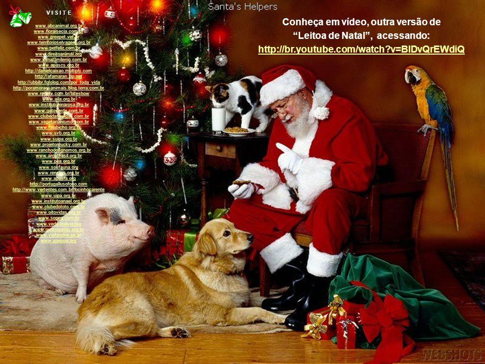 Conheça em vídeo, outra versão de Leitoa de Natal , acessando: