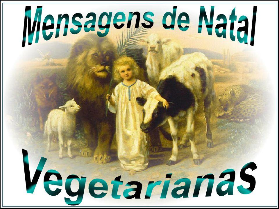 Mensagens de Natal Vegetarianas