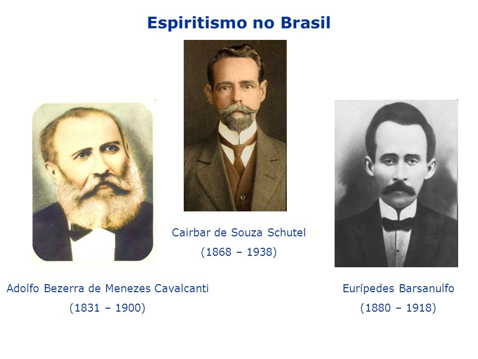 Espiritismo no Brasil Cairbar de Souza Schutel (1868 – 1938)