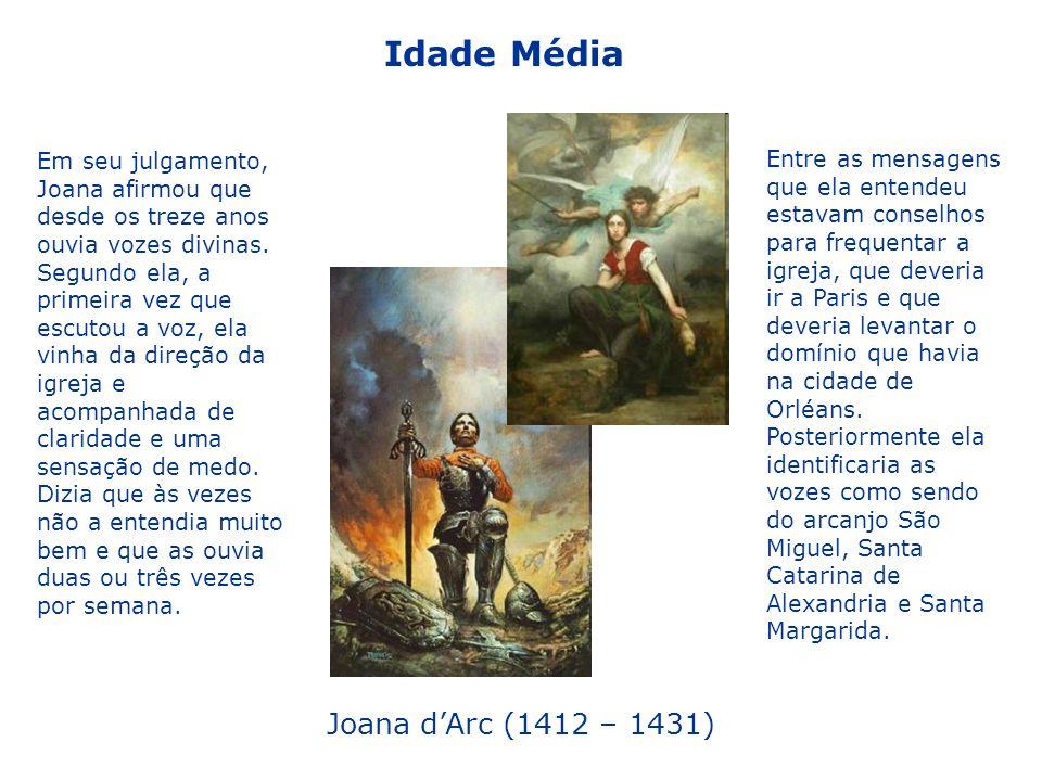 Idade Média Joana d'Arc (1412 – 1431)