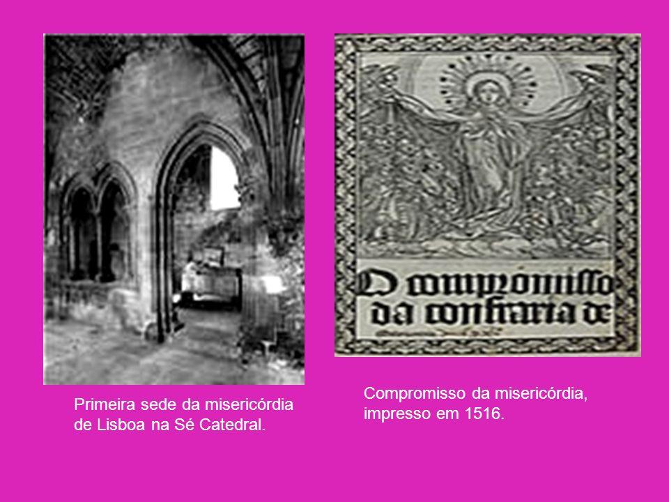 Compromisso da misericórdia, impresso em 1516.
